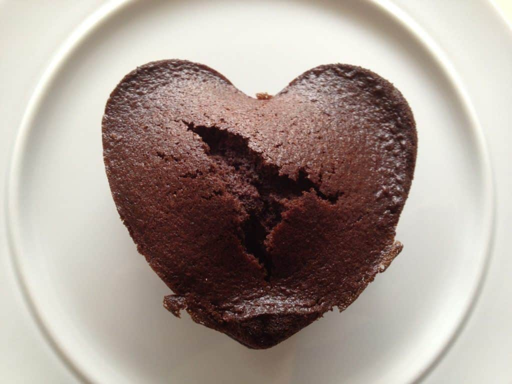 Muffins med Cocio chokolademælk, som du kan bruge både til børnefødselsdagen eller søndagskaffen. Opskriften er nem at gå til - og god at lave sammen med børn. Foto: Madensverden.dk.