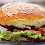 nem burger med kylling