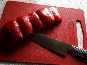 Så er peberfrugten klar til yderligere brug. Foto: Guffeliguf.dk.