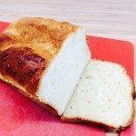 En dejlig opskrift på franskbrød, der er bagt med sødmælk. Foto: Guffeliguf.dk.