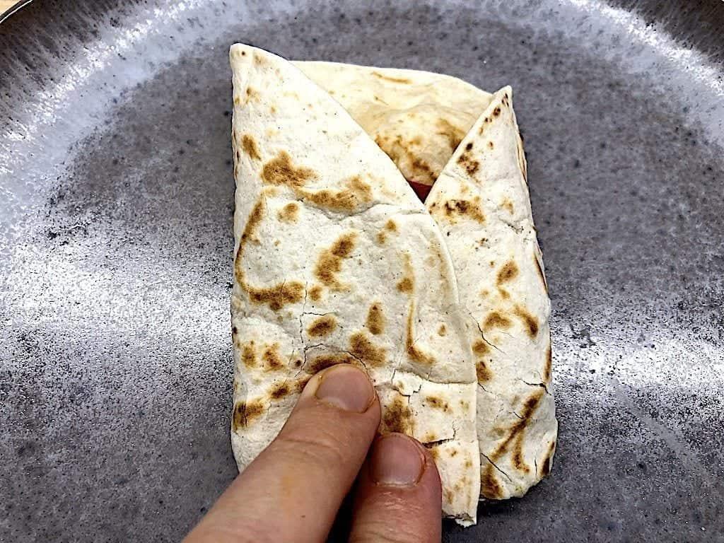 billede med foldning af tortilla 4