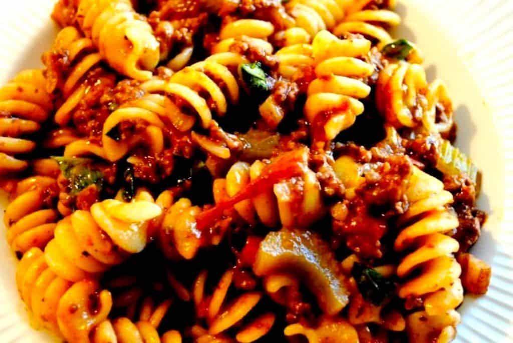 Verdens bedste italienske kødsovs