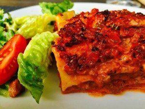 Lasagne med hjemmelavede pastaplader – nem opskrift