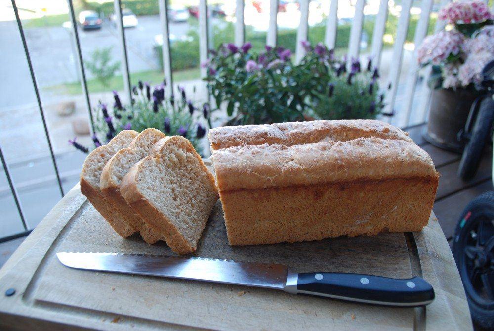 Fuldkorns franskbrød med speltmel – formfranskbrød