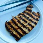 Kalkunschnitzel er magert kød, der er meget nem at tilberede på både gasgrill og kuglegrill. Foto: Guffeliguf.dk.