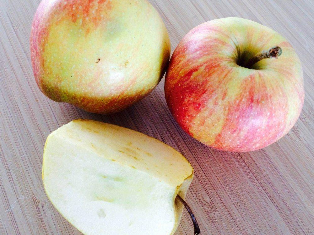 Æblegrød med vanilje og sukker er en rigtig dansk klassiker. Sådan en æblegrød skal koge i cirka 15 minutter. Foto: Guffeliguf.dk.