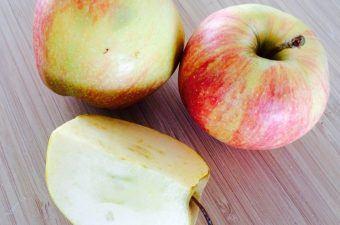 Æblegrød med vanilje og sukker er en rigtig dansk klassiker. Sådan en æblegrød skal koge i cirka 15 minutter. Foto: Madensverden.dk.