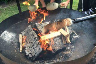 Snobrød opskrift til bål og grill – langtidshævede snobrød