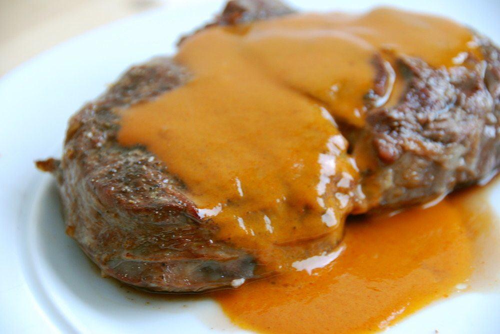 steaksovs opskrift