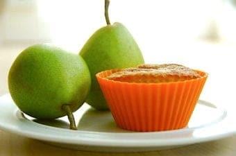 Pæremuffins – nem opskrift med hvid chokolade