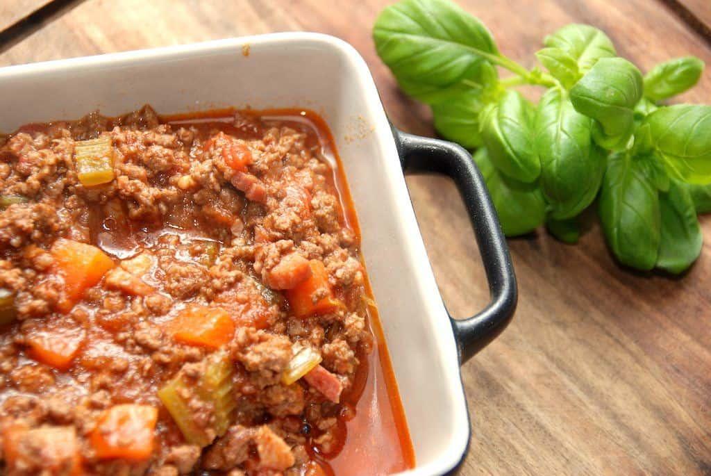 Pasta bolognese - den ægte italienske kødsovs