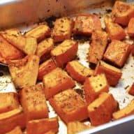 hokkaido græskar opskrift ovn
