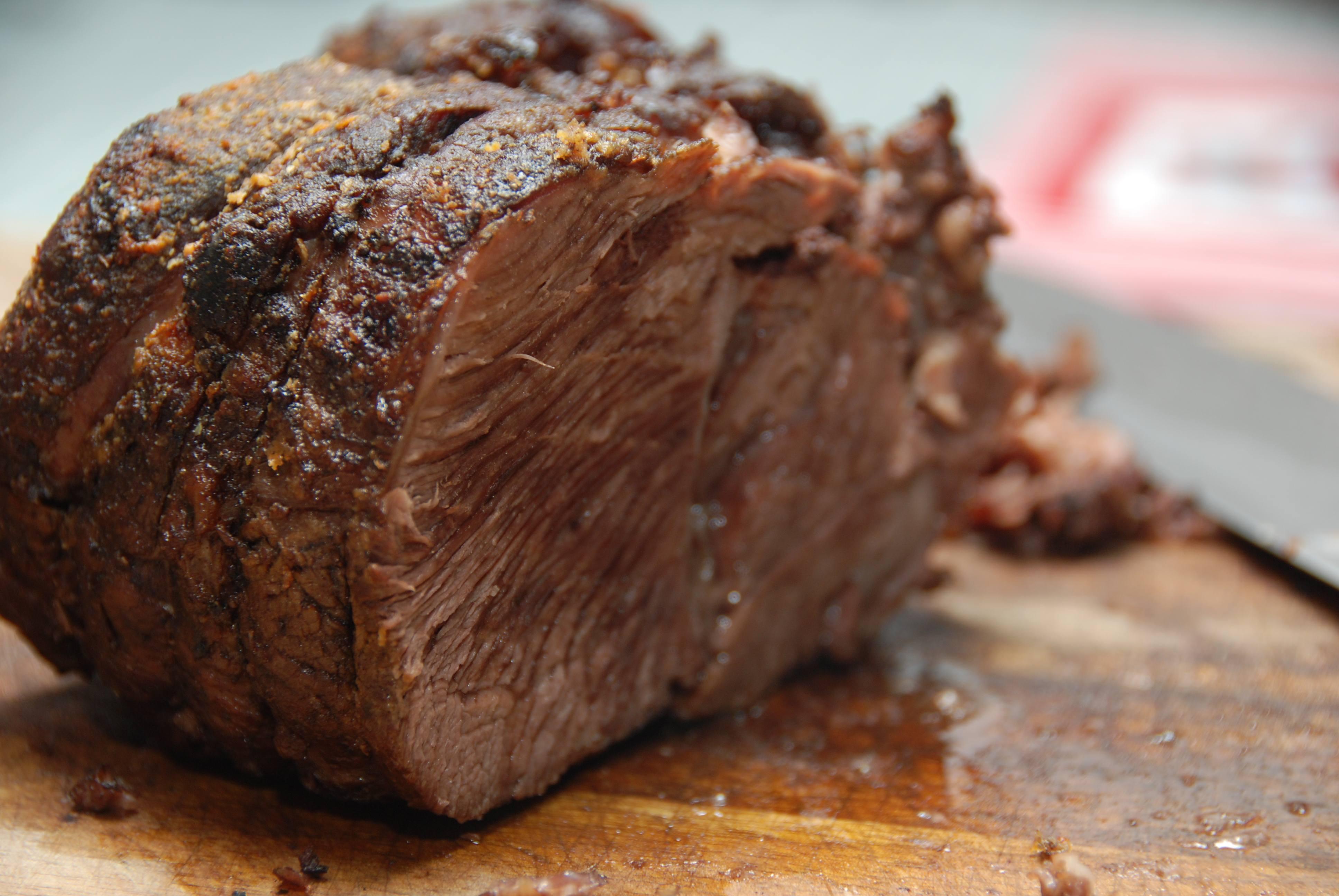 Oksetykkam stegt i ovn – opskrift med den bedste sovs