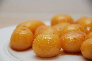 Brunede kartofler (se billeder)