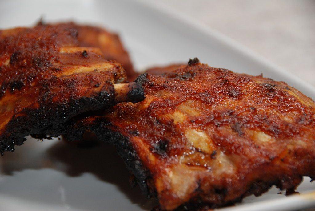 Spareribs På Gasgrill Tid : Kamben på grill i ovn med kogetid marinade det hele madens