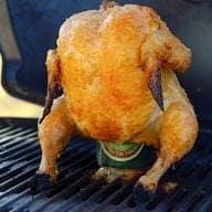 Billede med kylling på dåse