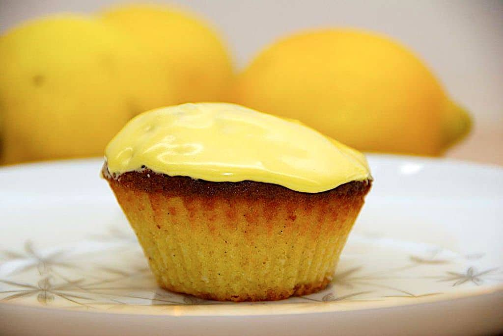 Citronmåne muffins - opskrift på små citronmåner
