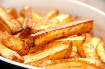 pommes frites i ovn