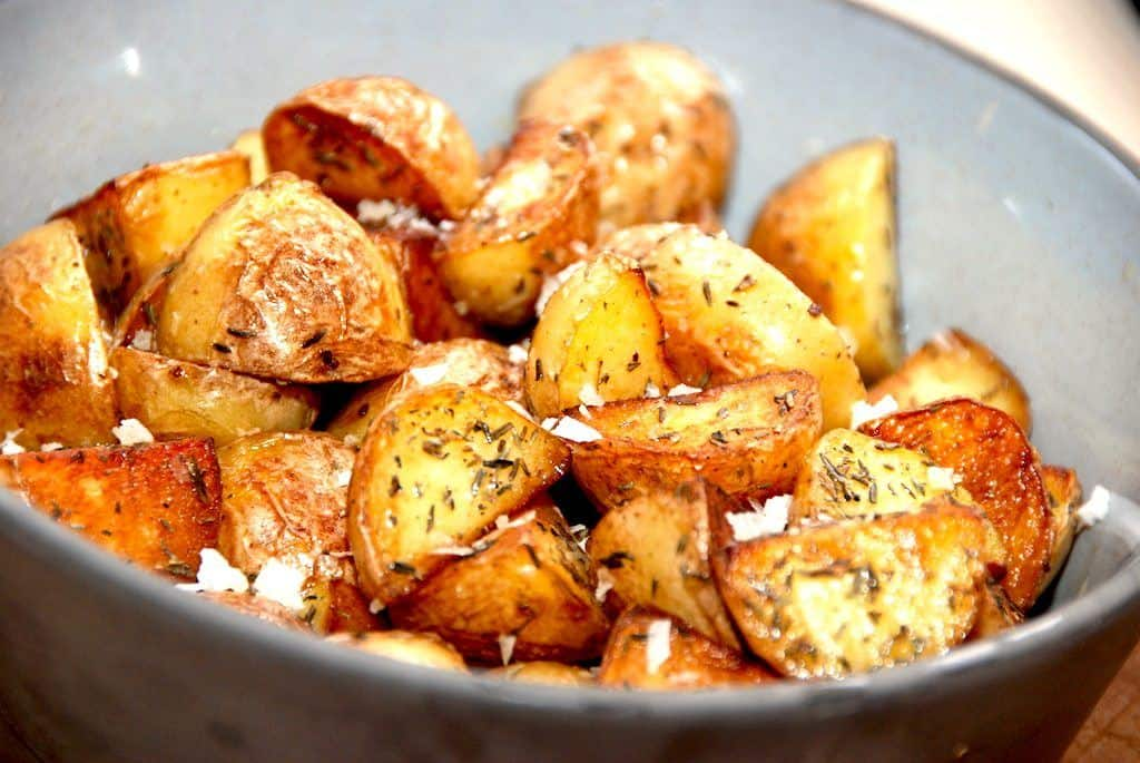 Brasede kartofler - sådan laves de bedste brasekartofler