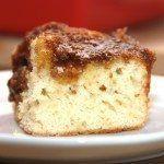 Sådan bager du en hurtig brunsviger med masser af remonce. Foto: Guffeliguf.dk.
