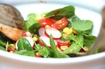 salat med radiser