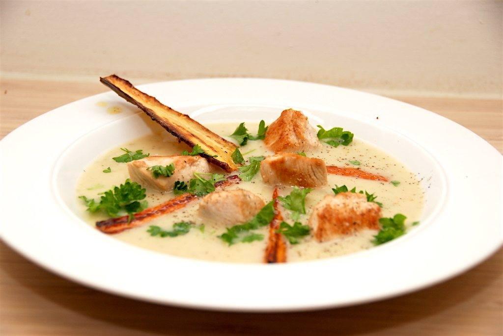billederesultat for suppe med pastinakker