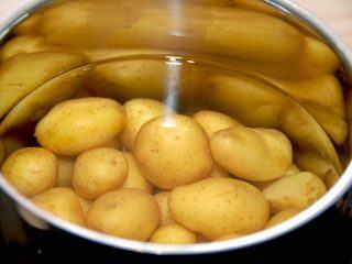 At ramme den helt rigtige kogetid på kartofler kan være svært, da kartofler jo varierer i størrelse og kvalitet. Men der er alligevel nogle faste holdepunkter. Foto: Madensverden.dk.