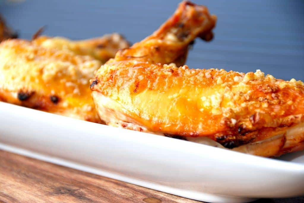 Grillet kyllingebryst med hvidløg og citronsaft