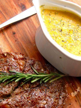 Grøntsagsbearnaise – opskrift på bearnaise med grøntsager