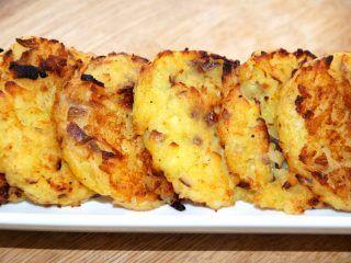 De hjemmelavede kartoffelrøsti smager meget bedre end dem, som mange henter hjem på frost fra supermarkedet. Foto: Madensverden.dk.