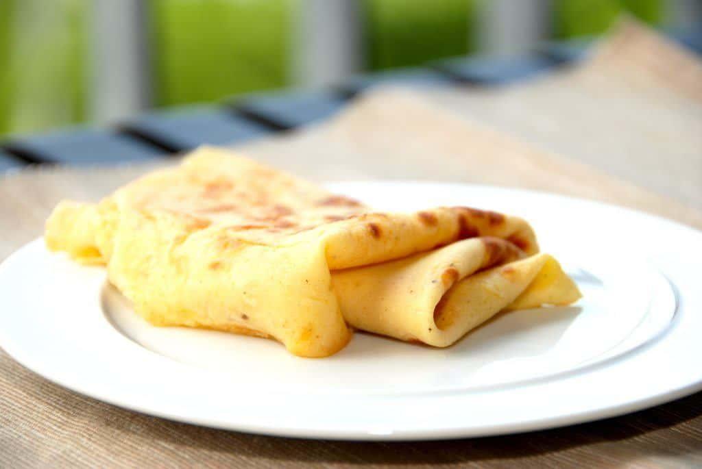 Dette er nemme pandekager, men det er samtidig de bedste pandekager, som du nogensinde har smagt. Foto: Guffeliguf.dk.