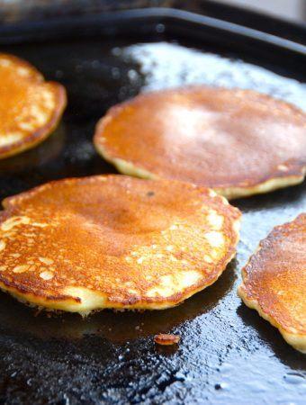 Opskrift på amerikanske pandekager til grill eller pande