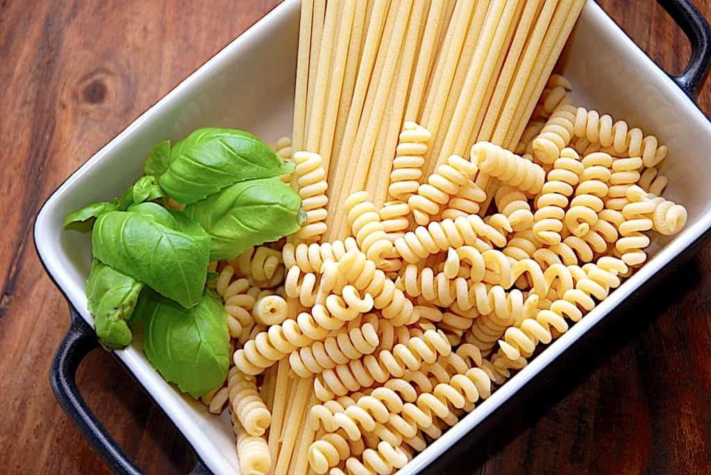 billede med pasta til faq