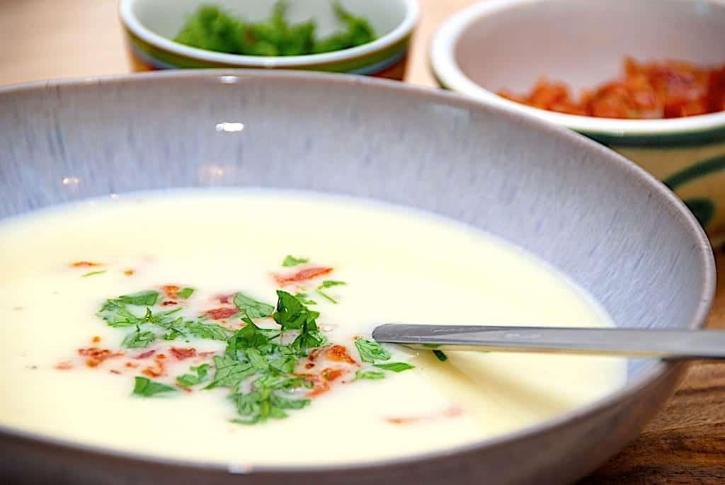 Kartoffelsuppe Nem Og Hurtig Opskrift På Suppe Med Kartofler