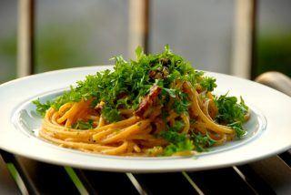 Spaghetti carbonara opskrift på 12 minutter