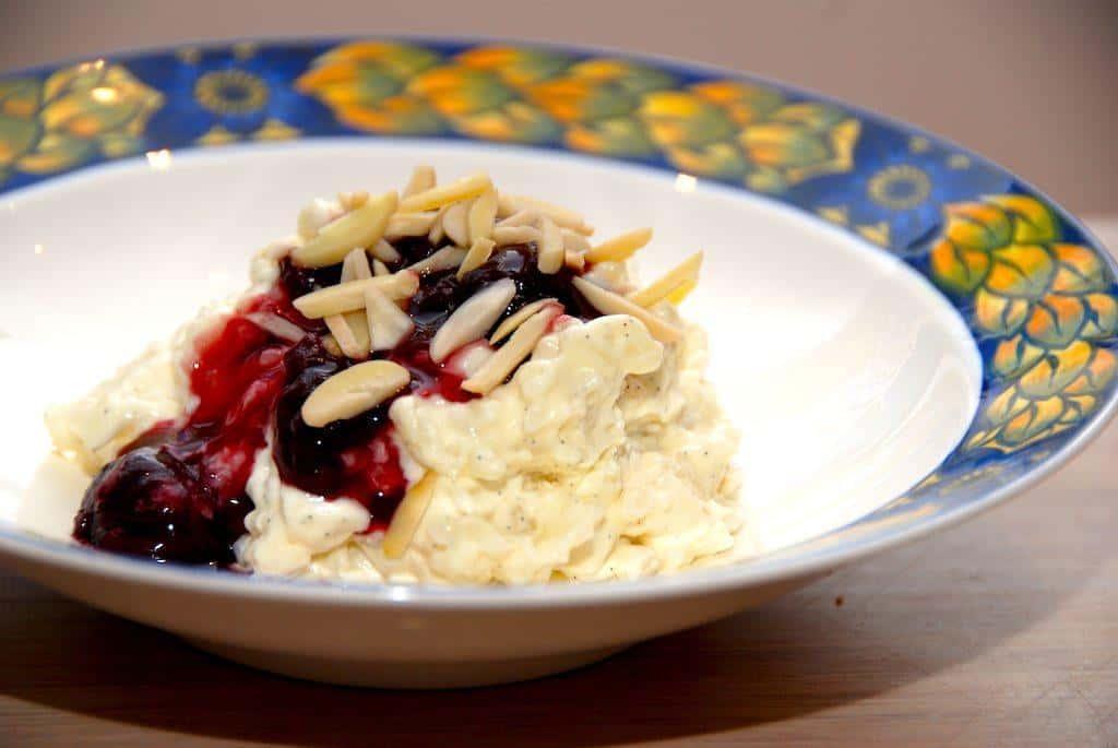 Risalamande med kirsebærsauce – grundopskrift