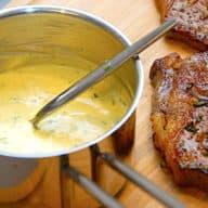billede med sauce bearnaise