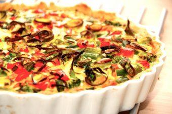 Nem grøntsagstærte (kødfri mad)