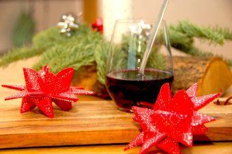 Hjemmelavet gløgg med rødvin og portvin