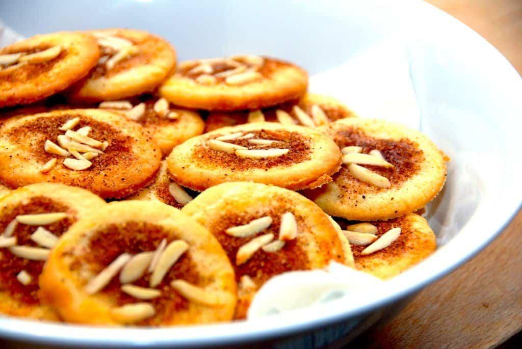 Jødekager - opskrift på de sprøde kanelkager til jul