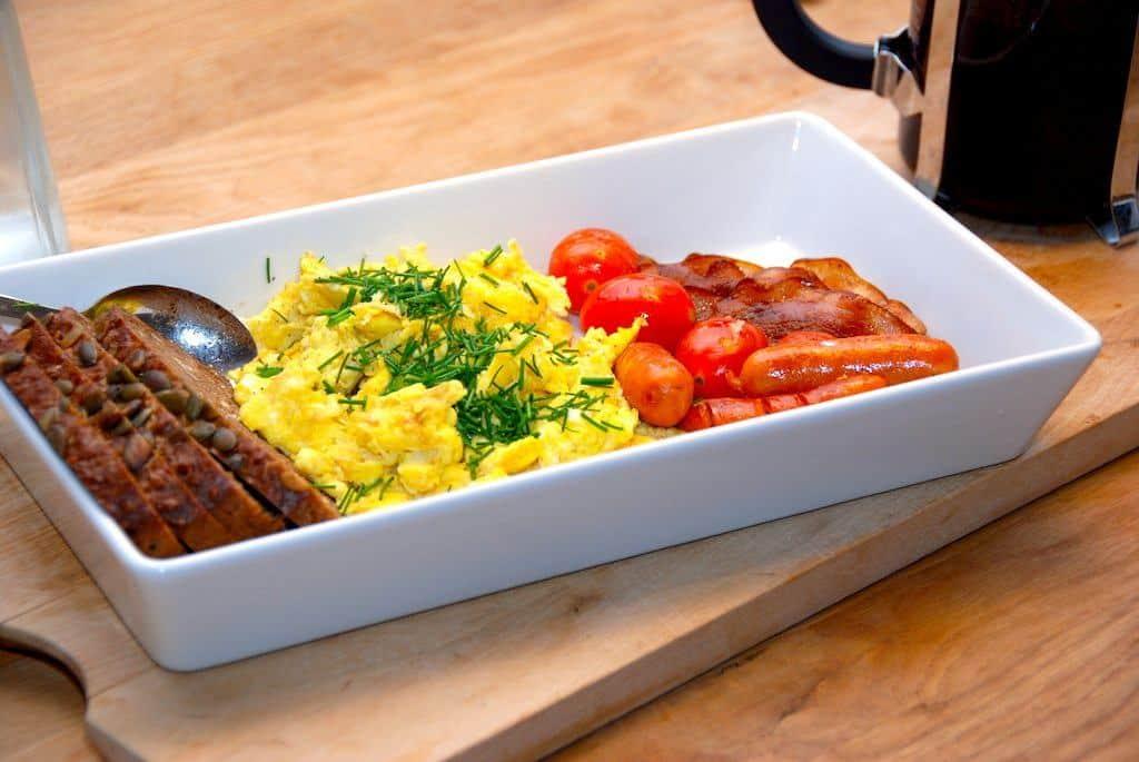 Billed resultat for scrambled eggs