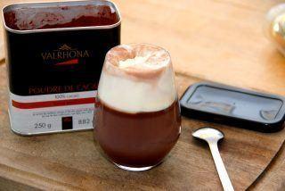 Valrhona varm kakao med smør