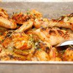 billederesultat for kylling i fad med kartofler