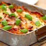 Den komplette madplan uge 2 byder blandt andet på en skån lasagnette, der er nem og billig at lave. Foto: Guffeliguf.dk.