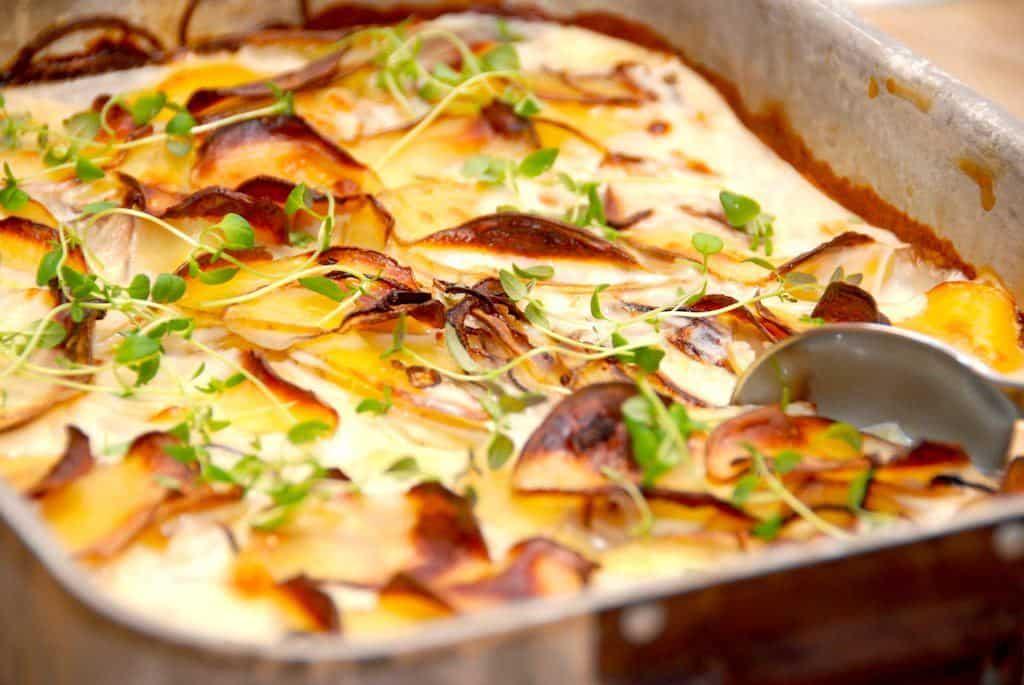 Flødekartofler uden fløde (fedtfattig)