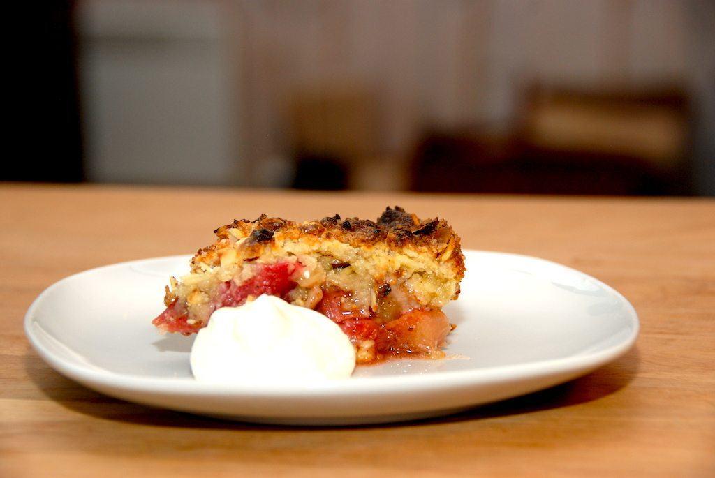 Verdens bedste rabarbertærte (med smuldredej)