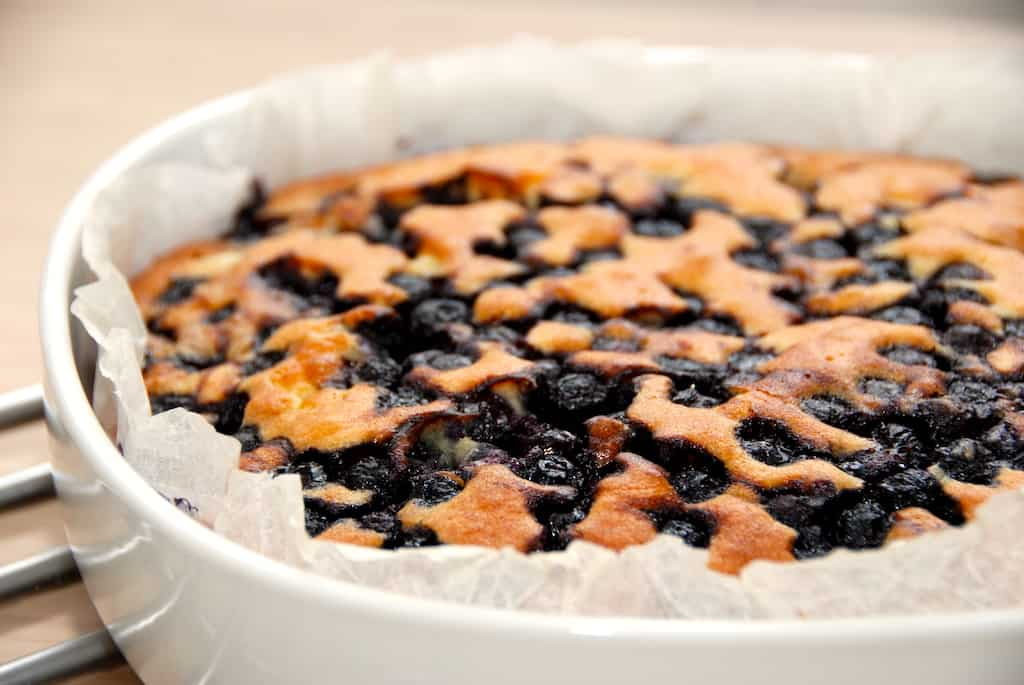 billederesultat for blåbærkage med frosne blåbær