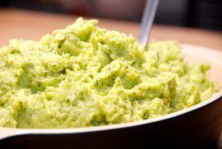 Kartoffel og broccoli mos