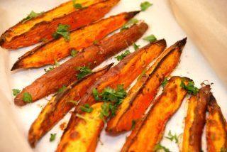 Ovnbagte søde kartofler med rosmarin