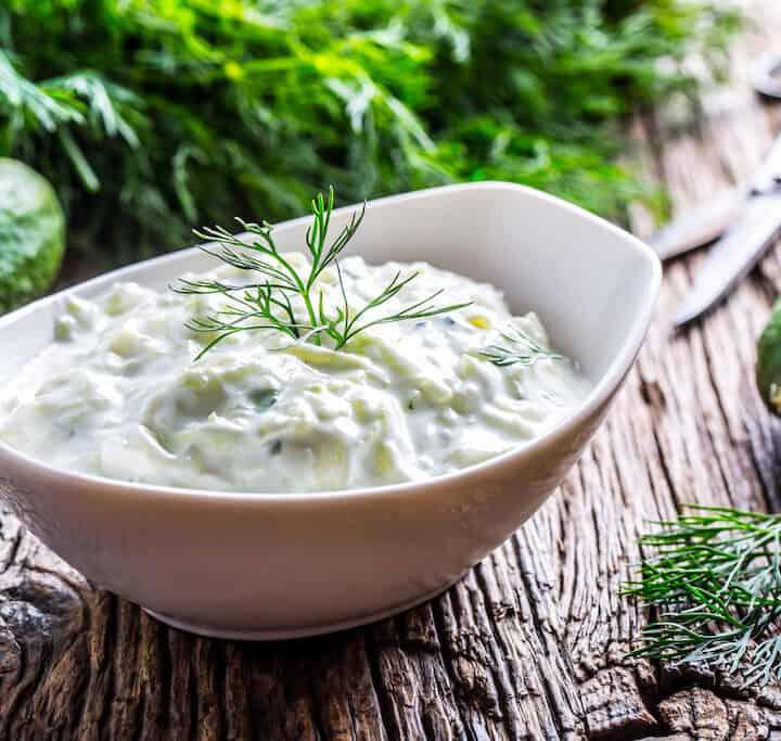 tzatziki græsk agurkesalat